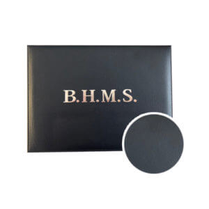Diploma Cover Black PU