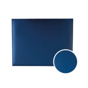 Diploma Cover Royal Blue PU