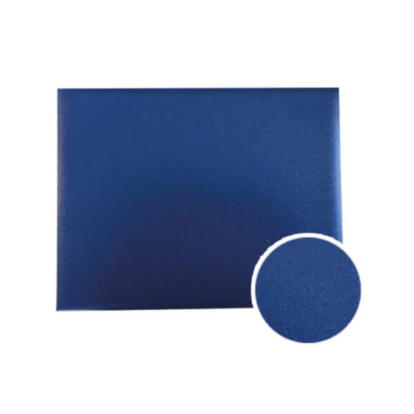 Diploma Cover Royal Blue Smooth