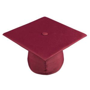Graduation Cap Maroon