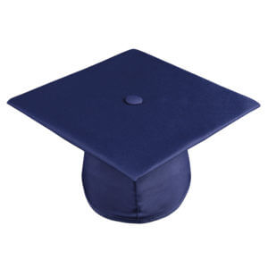 Graduation Cap Navy Blue