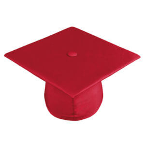 Graduation Cap Red