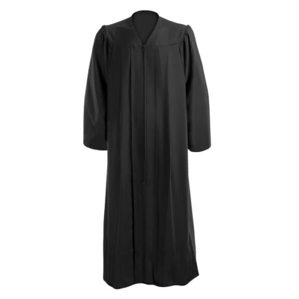 Graduation Gown Black