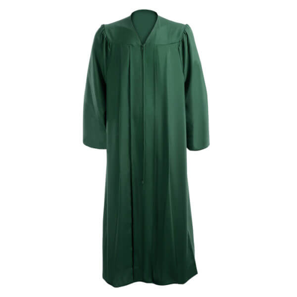 Graduation Gown Hunter Green