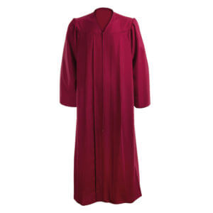 Graduation Gown Maroon