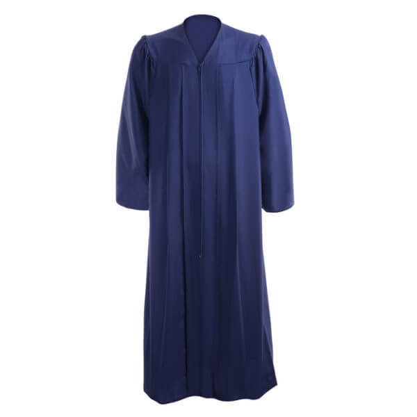 Graduation Gown Navy Blue