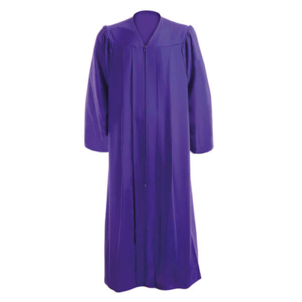 Graduation Gown Purple