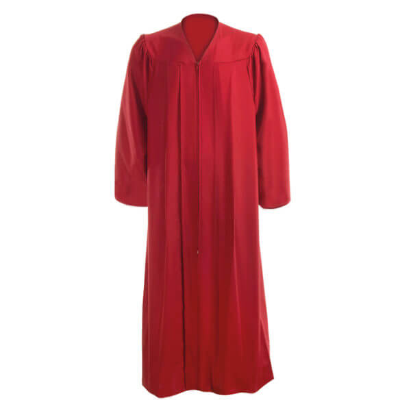 Graduation Gown Red