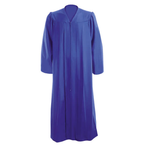 Graduation Gown Royal Blue