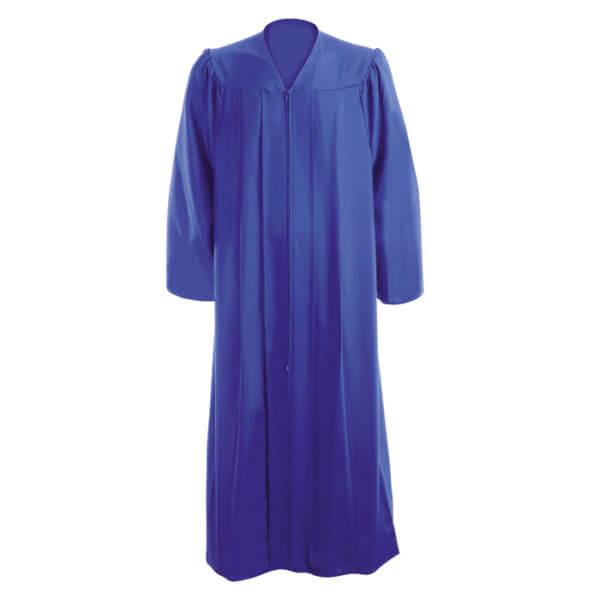 Toge de Graduation Bleu Cobalt