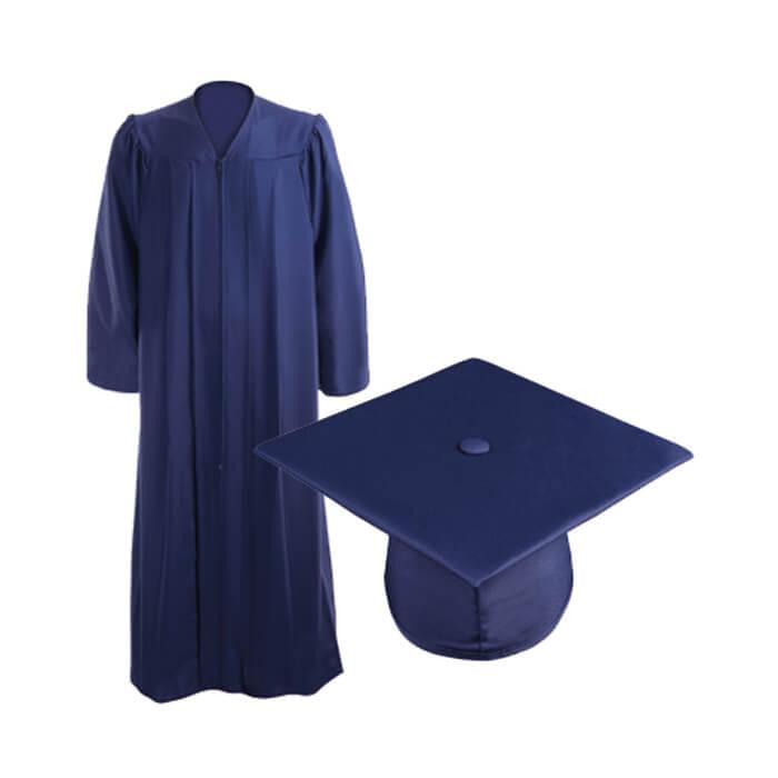 tenue bleu marine caps and gowns. Black Bedroom Furniture Sets. Home Design Ideas