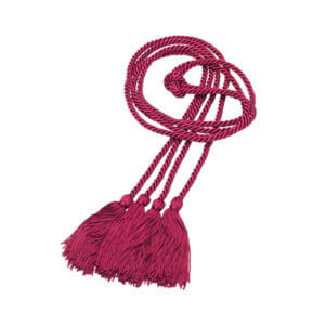 Honor Cord Maroon