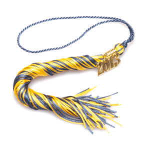 Tassel Blue-Gold