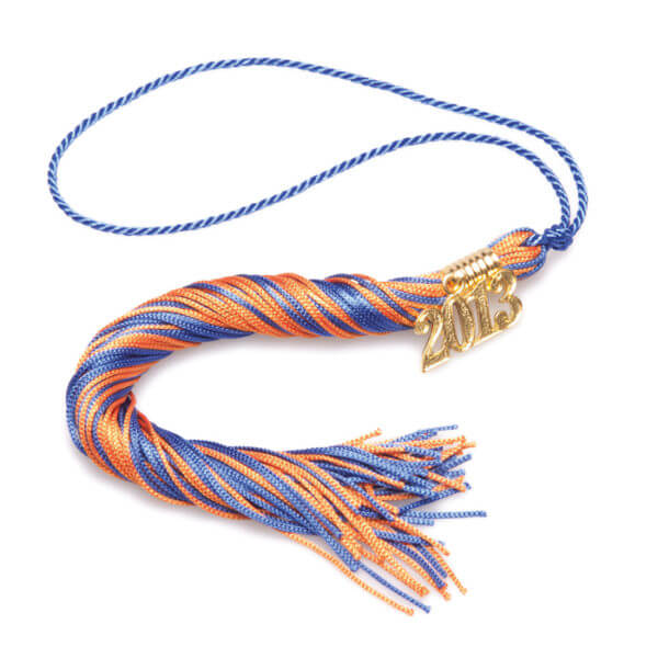 Tassel Blue-Orange