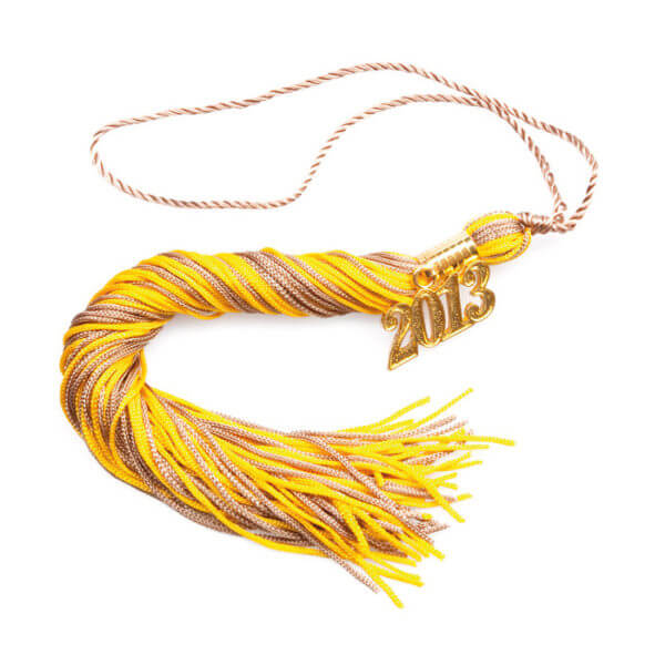 Tassel Gold-Brown