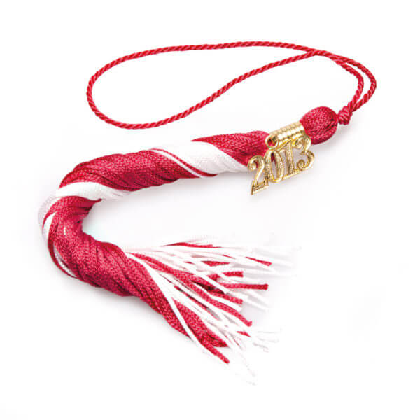 Tassel Red-White